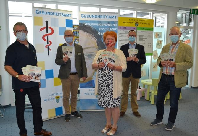 Pressegespräch z. Psychosozialen Hilfsangeboten im Landkreis Weilheim-Schongau während der Corona-Pandemie