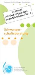Titelbild Flyer Schwangerschaftsberatung