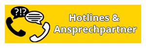Hotlines und Ansprechpartner